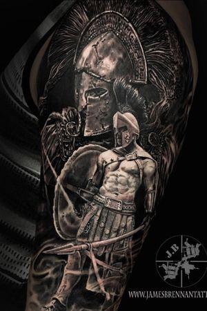 Warrior half sleeve #jamesbrennan