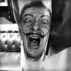 #tattoo #salvadordali #bristol