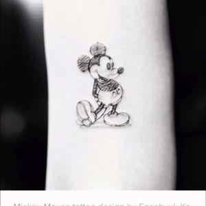 #tattoo #tattoos #love #amazing #disney #disneytattoos #ilovedisney #wrist #wristtattoo #wrist #tat #ink #inklove #free #mickey #mickeymouse