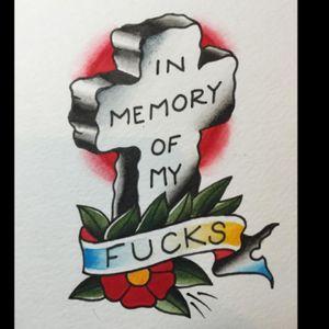 Oldie but a goodie. #RIP #tattooapprentice #anthonylowtattoos #tattooflash #traditionaltattoo