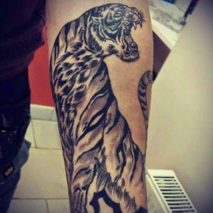 #tiger #japanesesleeve #royalink