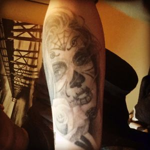 #dayofthedead #dayofthedeadgirl #inkmaster #tatubaby