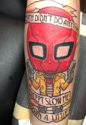 My red hood tattoo