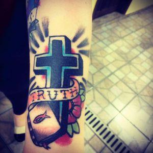 Cruz #tattoooldschool #cruz #boldline