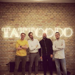 The cool gang from Tattoodo @Aunsdaddy @Morten @christian @simon