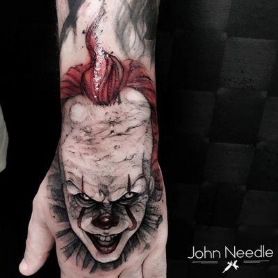 John Needle 🇧🇷 #IT #horror #terror #pennywise #palhaco #clown #filmes #movies