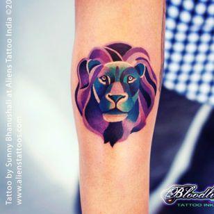 #lion #lionshead #purple #animal