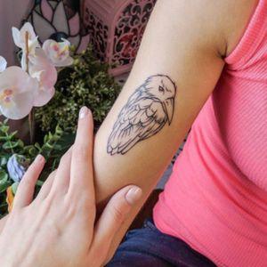 Bird #tattoobirds #tattooswallows  #minitattoo #minimalismtattoo #smalltattoo #smaltattoos #tinytattoo #tinytattoos #minimalism #tattoo #tattoogirls #tattoographic #linework #lineworktattoo #Fineline #finelinetattoo #fineLineTattoos #alisovatattoo #AlisaAlisova