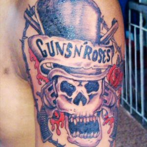 #me #firsttattoo #4yrsago #gnfnr #gnrfun #gnrink #funtattoo #April2013 #gnrlogo #GunsNRoses