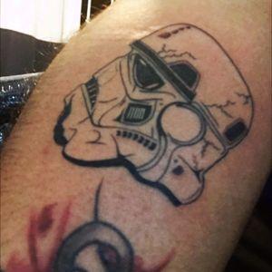 #stormtrooper #starwars #tattoo #braziliantattoo #tattoobrazil #saopaulo
