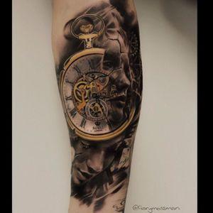 #time #clock #surrealistic #morph #timepiece #clockwork #time