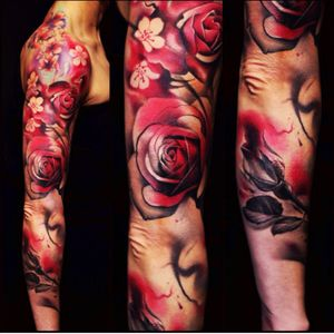 #joseecd #flowers #cherryblossom #rose #sleeve
