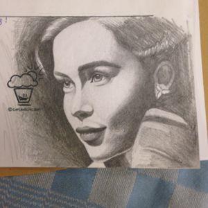 Quick sketch of Emilia Clarke #emiliaclarke #pencildrawing #portrait #realistic #realism