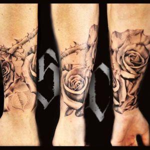 #tattoodo#tattoolife#blackandgrey#roses#life#inkworld#inklife#inklovers
