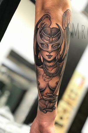 Miss Moon :) hope you like #mrg #morg #morgarmeni #tattoo