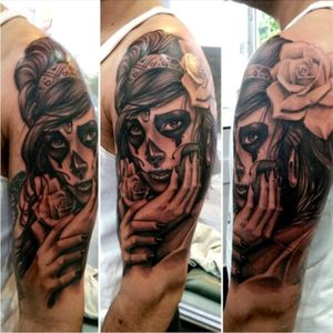 #sleeve#dayofthedead