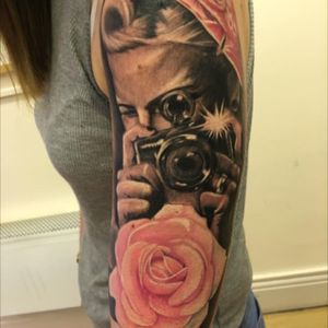 Love my tattoo, cant wait to finish it off #dreamtattoo
