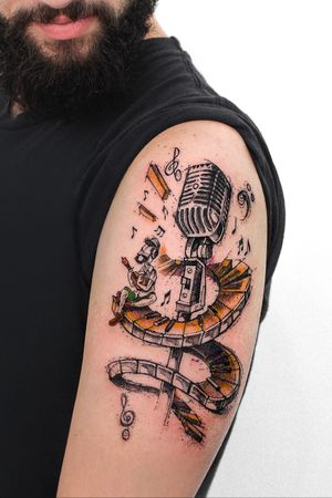 Arte e tattoo @robcarvalhoart