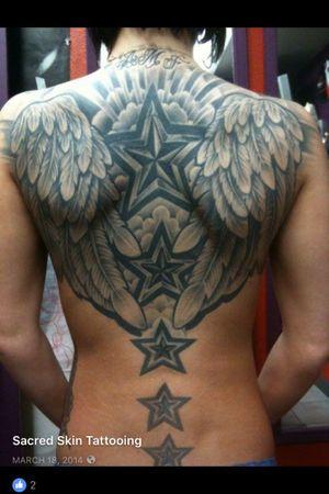 #angelwings #stars