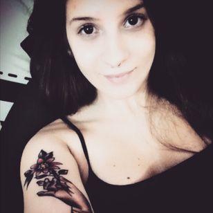 🦄 #tattoodobabe #tattooedgirl
