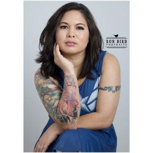 Photograph by Ron Bird Portraits. #inkedgirl #tattooedgirl #inked #inkedgirls