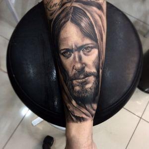Jesus. #jesustattoo #alexandreprim #tattoo #tattoopb #tattoodooffice #Tattoodo