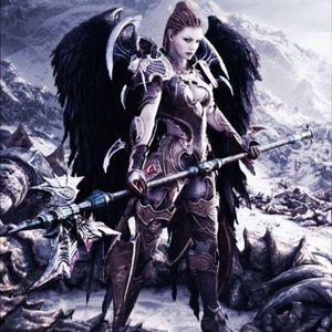 Angel/Valkyrie defending heaven/valhalla gates #megandreamtattoo