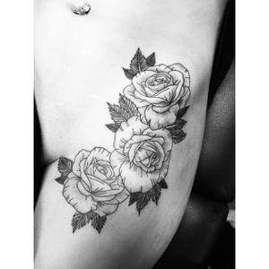 #roses #rosestattoo #dotwork #dotworktattoo #linework