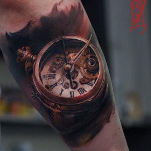 Artist #TymurDenysenko #clock #3D