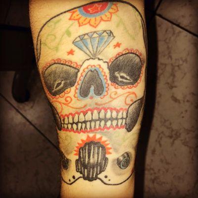 #starwarstattoo #starwars #skull #stormtrooper #mexicanskull