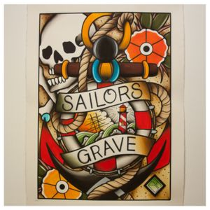 Sailors grave. A1
