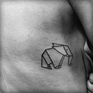 #elephant #origami 👌🏻🐘