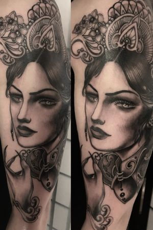 Lady inspired by TURANDOT