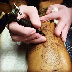 Getting Tattoed!