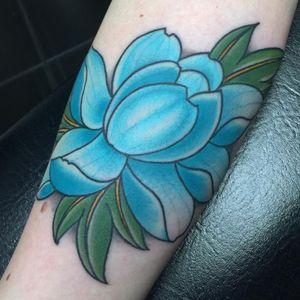 Lotis tattoo #lotus #lotustattoo #flower #flowertattoo #blueflower #theblues