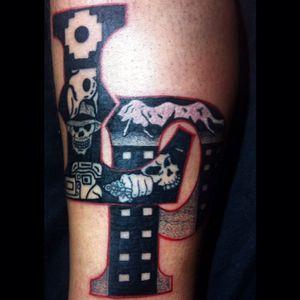 #Black #LaPaz #skull