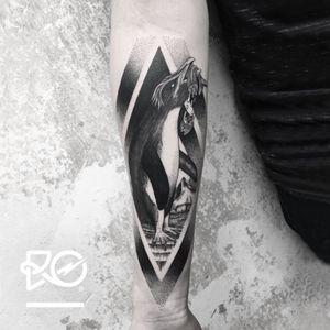 By RO. Robert Pavez • South Polo 1 • Done in Studio Inklabs - Dresden - 🇩🇪 2017 #engraving #dotwork #etching #dot #linework #geometric #ro #blackwork #blackworktattoo #blackandgrey #black #tattoo #fineline #penguintattoo