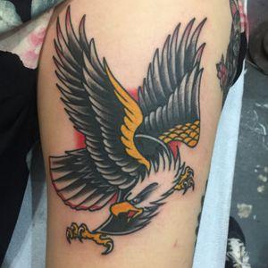 #eagle #tattoosbyrodrigocanteras