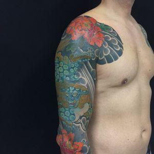 Tattoo by Carlos Amorim