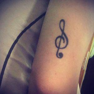 #musictattoo #music #blackinkonly