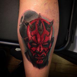#starwarstattoo #starwarstattoos #tattooart #tattooportrait #Tattoodo #darthmaultattoo #DarthMaul #andreabrusadintattoo #tattoo_art_worldwide #tattoo2016