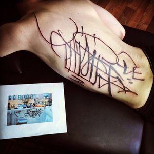 Signature #graffititattoo