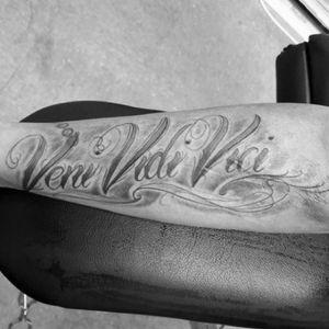 My #MyTattoo #VeniVidiVici #like #followme