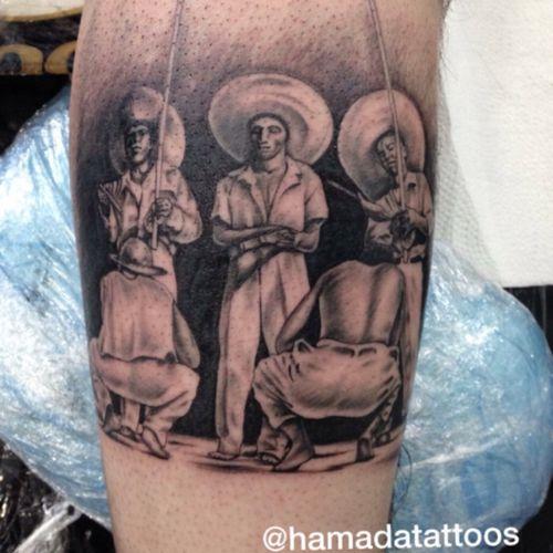 Capoeira #hamadatattoos #tatuadorbrasileiro #blackandgrey #realistic #culture #art