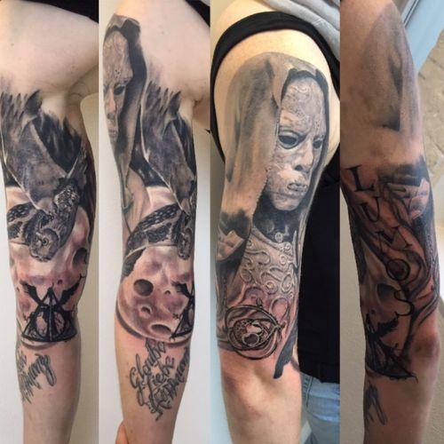 #tattoo #tattoo_art_worldwide #tattoo_artist #tattoo_artwork #tattoo_clube #realistictattoo #harrypotter #owl #blackandgrey #ink #tattooartist #tattoo_magazine #tattoo_of_instagram #tattoo_of_the_day #tattoobabes