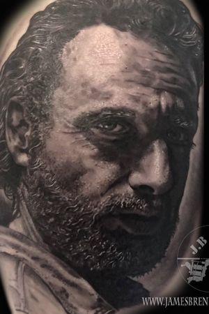 Rick grimes portrait #jamesbrennan