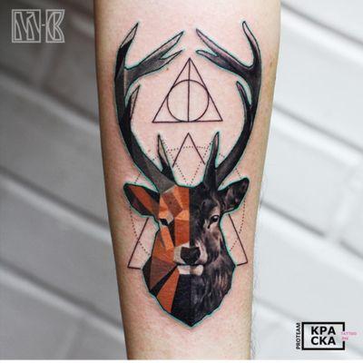 #deer#animal#geometric