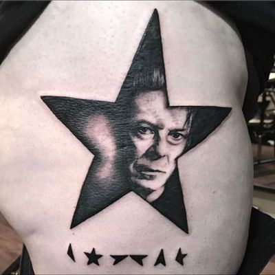 David Bowie tribute piece done by Sue at our shop #davidbowie #tattoo