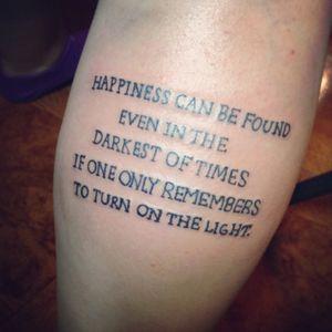 Harry Potter Quote by Jesslyn Bermudez in Toronto