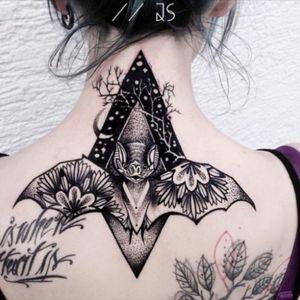 Unique bat tattoo #bat #unique